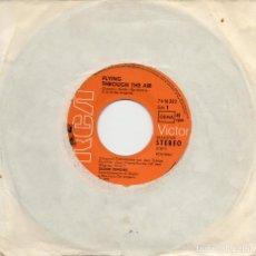 Discos de vinilo: OLIVER ONIONS - FLYING THROUGH THE AIR - (MAS FUERTE MUCHACHOS - SINGLE. Lote 235860460