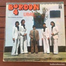 Discos de vinilo: BORDON 4 - LIBRE . LP . 1979 ODEON. Lote 235878965
