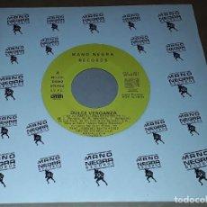 Discos de vinilo: SINGLE - DULCE VENGANZA - PROMO - DULCE VENGANZA - SE ACABO EL ABURRIMIENTO - PROMOCIONAL. Lote 235881855