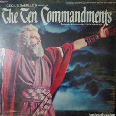 Discos de vinilo: LOS DIEZ MANDAMIENTOS LP DOBLE 2 DISCOS EDITADO EN USA POR EL SELLO MCA RÉCORDS.... Lote 235900830