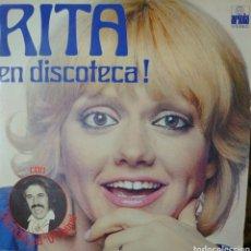 Discos de vinilo: RITA PAVONE EN DISCOTECA LP SELLO ARIOLA EDITADO EN ESPAÑA AÑO 1975.... Lote 235901640