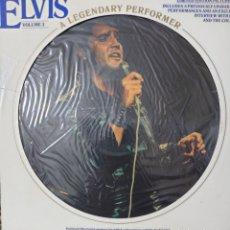 Discos de vinilo: ELVIS PRESLEY PICTURE-DISC ECHO EN USA AÑO 1978...CON LIBRETO DE 16 PÁGINAS.... Lote 235904945