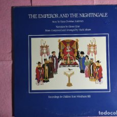 Discos de vinilo: LP MARK ISHAM- THE EMPEROR AND THE NIGHTINGALE - US PRESS - WINDHAM HILL - (EX-/EX++). Lote 235906960