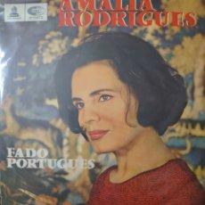 Discos de vinilo: AMALIA RODRÍGUES LP SELLO EMI-ODEON EDITADO EN CHILE AÑO 1965.... Lote 235907355
