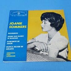 Discos de vinilo: DISCO DE VINILO - JOANIE SOMMERS - RECUERDOS / DESDE QUE RANDY SE MARCHÓ - 1963. Lote 235908620