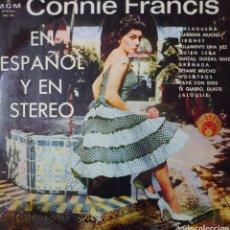 Discos de vinilo: CONNIE FRANCIS CANTA EN ESPAÑOL LP SELLO M G M EDITADO EN ESPAÑA AÑO 1964.... Lote 235910075