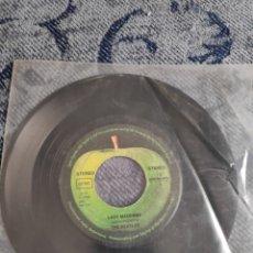 Discos de vinilo: VINILO SINGLE - THE BEATLES - LADY MADONNA + THE INNER LIGHT. Lote 235933285