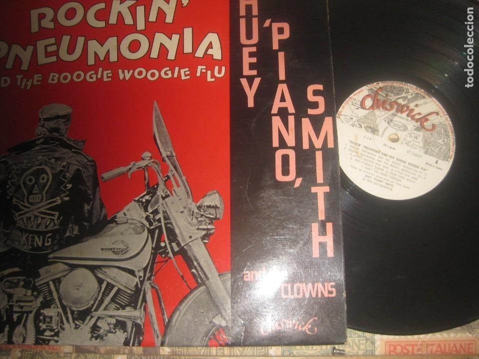 - HUEY PIANO SMITH ROCKIN' PNEUMONIA AND THE BOOGIE(CHISWICK-1979) OG ESPAÑA (Música - Discos - LP Vinilo - Jazz, Jazz-Rock, Blues y R&B)