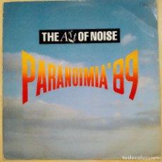 Discos de vinilo: THE ART OF NOISE, PARANOIMIA ´89, UK 1989, CHINA RECORDS – CHINX 14 (VG+_VG+). Lote 235950290