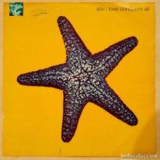 Discos de vinilo: ABC, LOVE CONQUERS ALL (REMIXES), UK 1991, PARLOPHONE – 12R6292 (VG_EX). Lote 235950430