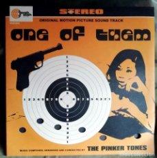 Discos de vinilo: THE PINKER TONES – ONE OF THEM - VINILO ROSA - SPAIN. Lote 235953615