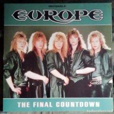Discos de vinilo: EUROPE – THE FINAL COUNTDOWN SPAIN 1986. Lote 235954565