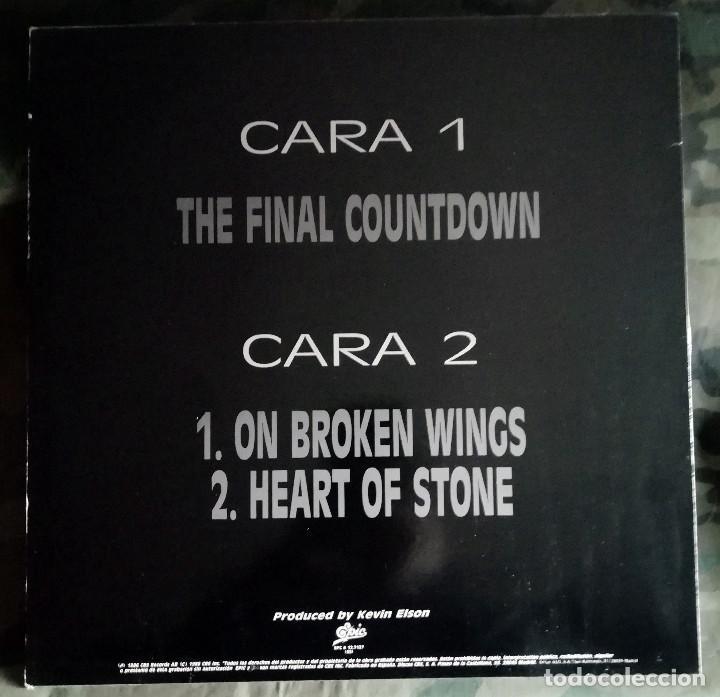 Discos de vinilo: Europe – The Final Countdown Spain 1986 - Foto 2 - 235954565