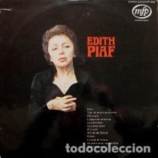 Disques de vinyle: EDITH PIAF - EDITH PIAF. Lote 235955305