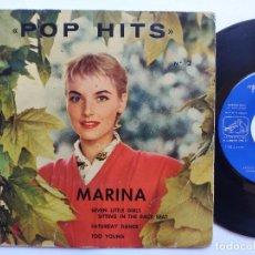 Discos de vinilo: THE AVONS / THE SHADOWS / BILL FORBES / BIG BEN BANJO BAND - EP SPAIN PS - POP HITS Nº 2. Lote 235959615