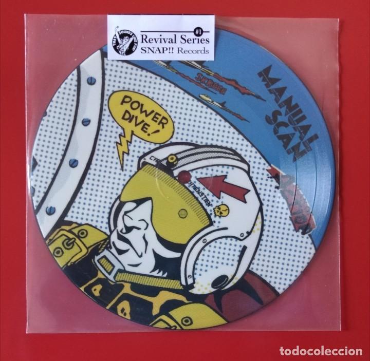EP MANUAL SCAN, PICTURE DISC (Música - Discos de Vinilo - EPs - Pop - Rock Extranjero de los 90 a la actualidad)