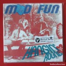 Discos de vinilo: EP MOD FUN, HANGIN' ROUND. Lote 235961220