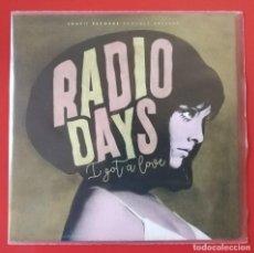 Discos de vinilo: EP DE RADIO DAYS, I GOT A LOVE. Lote 235963495
