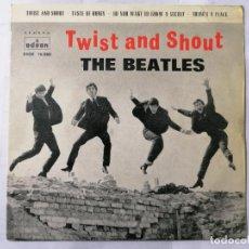 Discos de vinilo: THE BEATLES, TWIST AND SHOUT Y TRES CANCIONES MAS , AÑO 1963, ODEON, DSOE 16.560. Lote 235965485