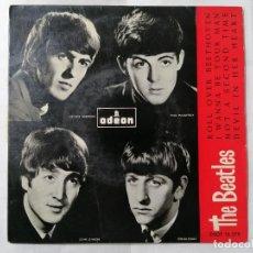 Discos de vinilo: THE BEATLES, ROLL OVER BEETHOVEN Y TRES CANCIONES MAS , AÑO 1964, ODEON, DSOE 16.579. Lote 235969050