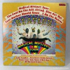 Discos de vinilo: LP - VINILO THE BEATLES - MAGICAL MYSTERY TOUR - DOBLE PORTADA + LIBRETO INTERIOR - ESPAÑA - 1977. Lote 235976740