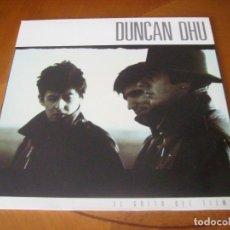 Discos de vinilo: LP : DUNCAN DHU - EL GRITO DEL TIEMPO - CONTIENE HOJA INTERIOR EX. Lote 235977285