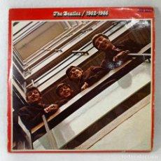 Discos de vinilo: LP - VINILO THE BEATLES / 1962 - 1966 - DOBLE PORTADA - DOBLE LP + ENCARTES - ESPAÑA - AÑO 1973. Lote 235984750