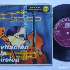 Discos de vinilo: INVITACION A LA MUSICA - SINGLE SPAIN PS - CORIOLAN OVERTURE / DELICADO / MI AMOR SECRETO + 1. Lote 235984900