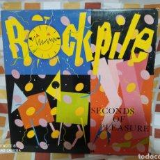 Discos de vinilo: ROCKPILE–SECONDS OF PLEASURE . LP VINILO EDICIÓN DE 1980.. Lote 235997170