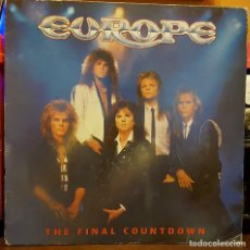 Discos de vinilo: EUROPE - THE FINAL COUNTDOWN. Lote 235997405