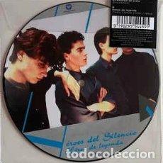 Disques de vinyle: BUNBURY/HEROES DEL SILENCIO - EN BANDEJA DE PLATA / HÉROE DE LEYENDA PICTURE DISC RSD 2019. Lote 235578715