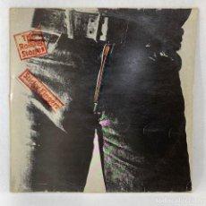 Discos de vinilo: LP - VINILO THE ROLLING STONES - STICKY FINGERS + ENCARTE - ESPAÑA - 1979. Lote 236001855