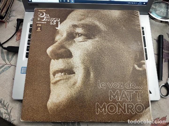 MATT MONRO - LA VOZ DE... MATT MONRO (2XLP, COMP) ODEON 10 C 176-82045/6. VINILO NUEVO. MINT / VG+ (Música - Discos - LP Vinilo - Cantautores Extranjeros)
