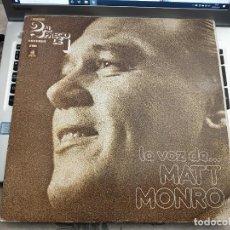Discos de vinilo: MATT MONRO - LA VOZ DE... MATT MONRO (2XLP, COMP) ODEON 10 C 176-82045/6. VINILO NUEVO. MINT / VG+. Lote 236003935