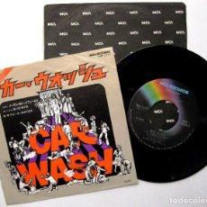 Discos de vinilo: ROSE ROYCE - CAR WASH - SINGLE MCA RECORDS 1976 JAPAN (EDICIÓN JAPONESA) BPY. Lote 236004780
