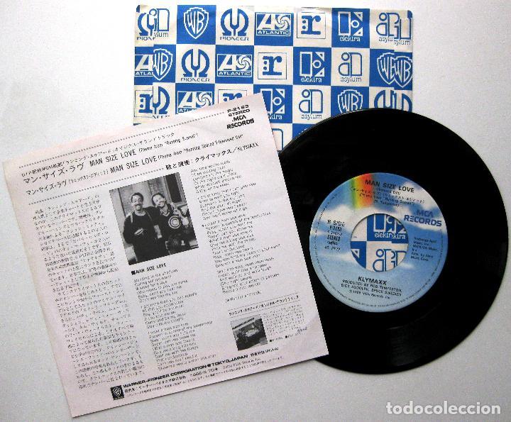 Discos de vinilo: Klymaxx - Man Size Love (Running Scared) - Single MCA Records 1986 Japan (Edición Japonesa) BPY - Foto 2 - 236010915
