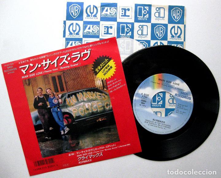 KLYMAXX - MAN SIZE LOVE (RUNNING SCARED) - SINGLE MCA RECORDS 1986 JAPAN (EDICIÓN JAPONESA) BPY (Música - Discos - Singles Vinilo - Bandas Sonoras y Actores)