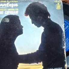 Discos de vinilo: SINGLE (VINILOL) DE STELVIO CIPRIANI AÑOS 70. Lote 236012415