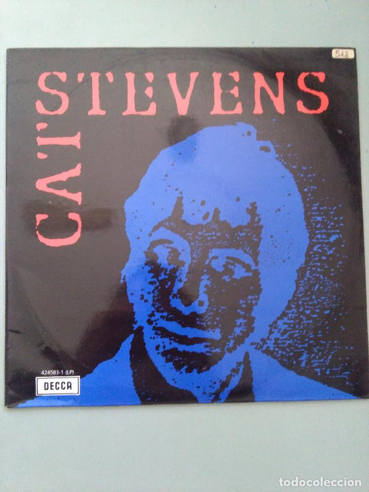 LP CAT STEVENS-CAT STEVENS RECOPILATORIO (Música - Discos - LP Vinilo - Otros estilos)