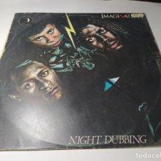 Discos de vinilo: LP - IMAGINATION – NIGHT DUBBING (SPECIAL REMIXED VERSIONS) - I - 205.411 ( VG+ / G) SPAIN 1983. Lote 236013845