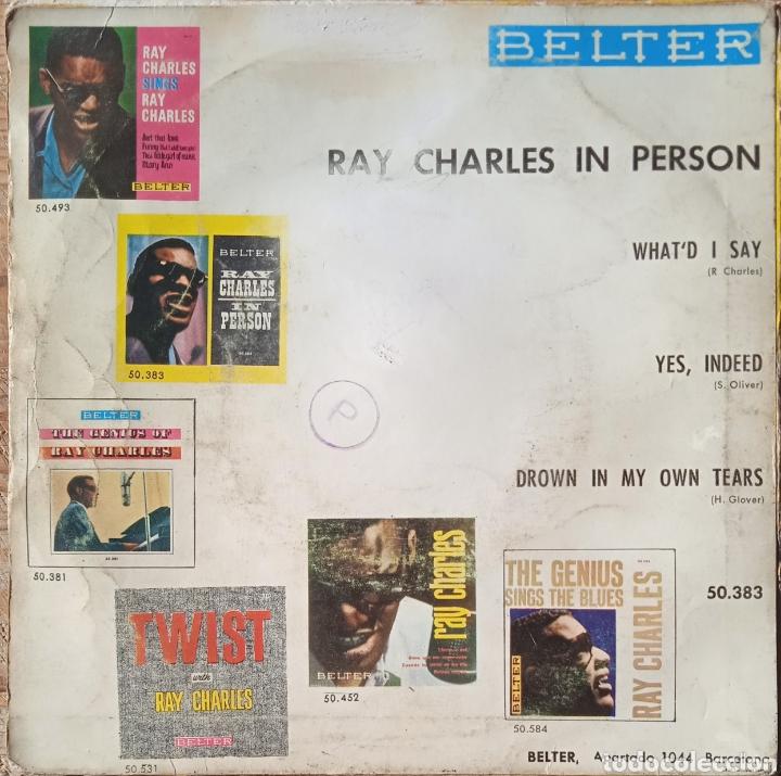 Discos de vinilo: EP Ray Charles - Foto 2 - 236015465