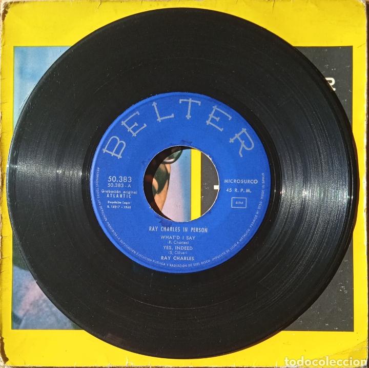 Discos de vinilo: EP Ray Charles - Foto 3 - 236015465