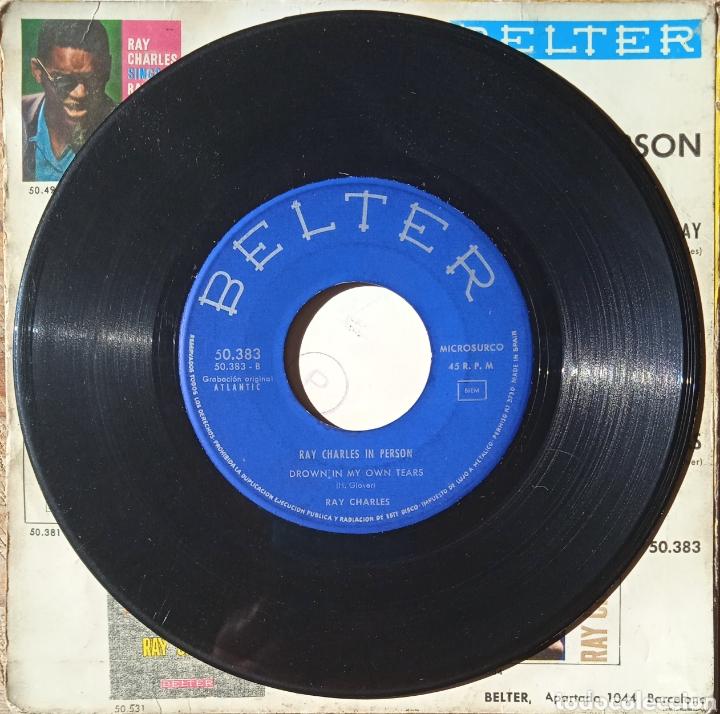 Discos de vinilo: EP Ray Charles - Foto 4 - 236015465