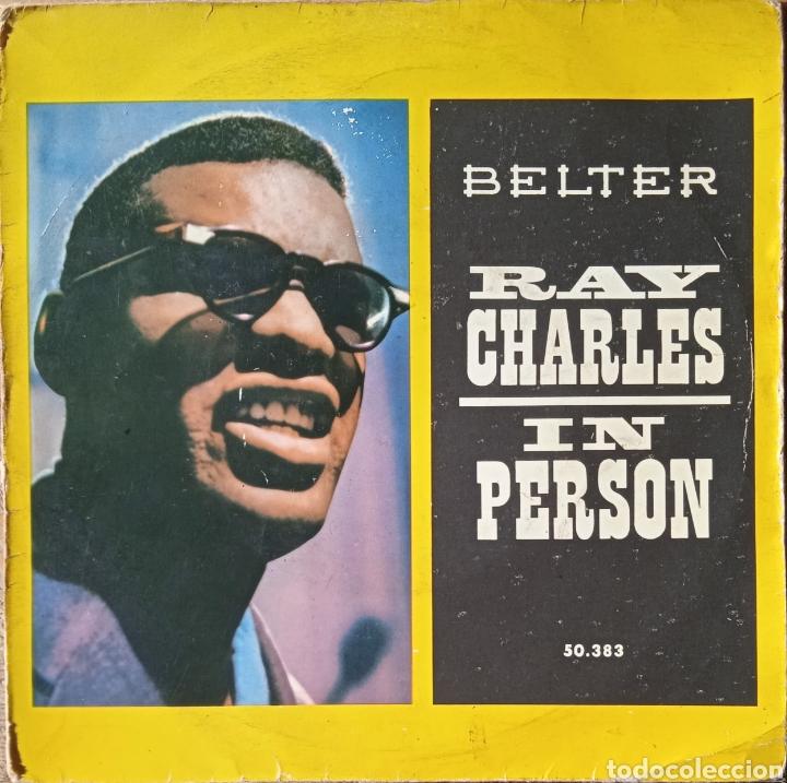 EP RAY CHARLES (Música - Discos de Vinilo - EPs - Funk, Soul y Black Music)