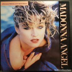 Discos de vinilo: MADONNA - ANGEL - MAXISINGLE - USA - RARO - EXCELENTE - NO USO CORREOS. Lote 236015475