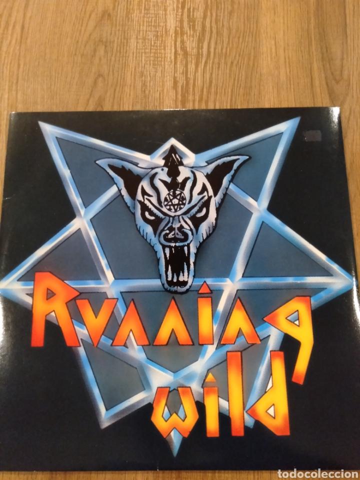 """RUNNING WILD. EP 12"""" """" VICTIM OF STATE POWER """". EDICIÓN ALEMANA. 1984. REEDICIÓN 2014. VINILO COLOR. (Música - Discos de Vinilo - EPs - Heavy - Metal)"""