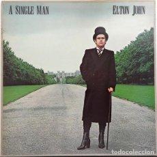 Discos de vinilo: ELTON JOHN - A SINGLE MAN. Lote 236022410