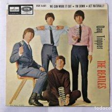 Discos de vinilo: THE BEATLES, DAY TRIPPER Y TRES CANCIONES MAS, AÑO 1966, ODEON, DSOE 16.685. Lote 236023940