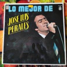 Discos de vinilo: LP_JOSE LUIS PERALES_LO MEJOR DE .... (1979-80). Lote 236029720