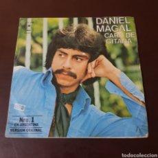 Discos de vinilo: DANIEL MAGAL - FUE MAS FACIL DESPEDIRME QUE OLVIDARTE - CARA DE GITANA - EPIC. Lote 236031060